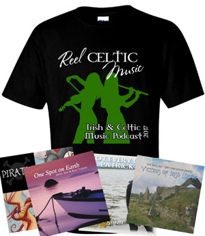 2017 Irish & Celtic Music Podcast T-Shirt - Reel Celtic Music